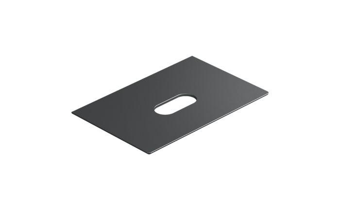 Catalano Horizon Blat ceramiczny 125x50 cm nero satinato czarny mat 1PC12550NS