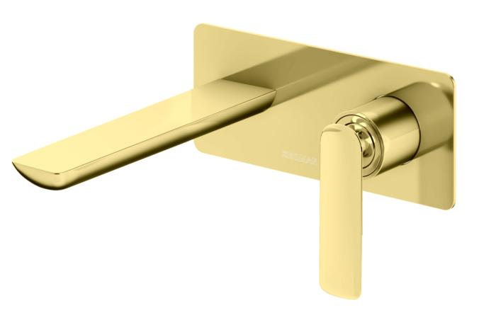 Kohlman Experience GOLD Bateria podtynkowa umywalkowa złota  QW185EGD