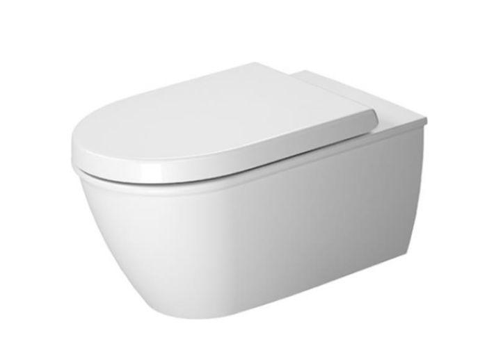 Duravit Me by Philippe Starck muszla podwieszana Rimless z deską wolnoopadającą hygiene glaze 45290900A1