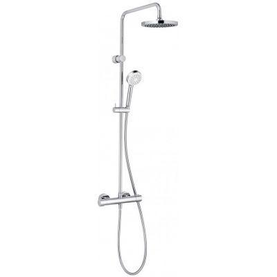 Kludi Logo Dual Shower System zestaw prysznicowy termostatyczny chrom 6809405-00