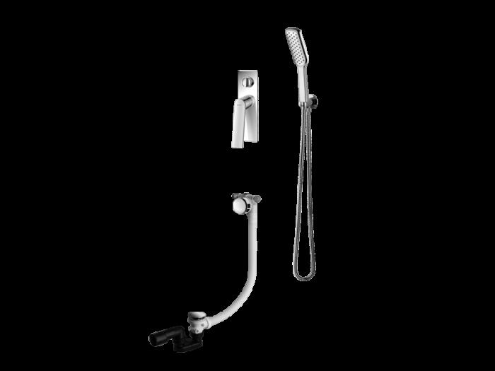 Vedo Deso II system wannow podtynkowy - wydłuzony VBD4242/CH