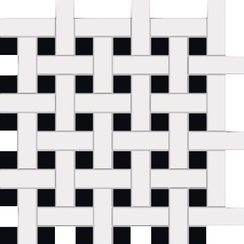 Tubądzin London Piccadilly Tower Hill 2 Mozaika podłogowa 29.8x29.8 cm  LADY443D