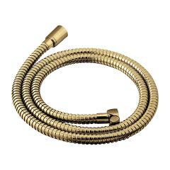 Omnires Wąż prysznicowy 150 cm złoty szczotkowany