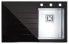 Alveus Crystalix 10 POP-UP czarna 860x540 mm - prawy