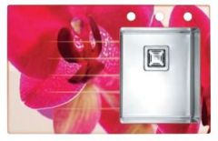 Alveus Crystalix 10 POP-UP satyna 860x540 mm - prawy