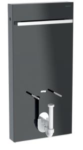 Geberit Monolith Moduł sanitarny do bidetu 101 cm kolor lava/boki czarne
