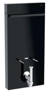 Geberit Monolith Moduł sanitarny do bidetu 101 cm kolor czarny/boki czarne