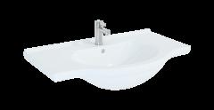 Elita Umywalka meblowa Rio 85x49 cm biały połysk