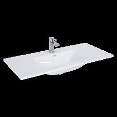 Elita Umywalka meblowa Skappa 100x46 cm biały połysk