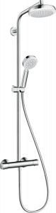 Hansgrohe Crometta Komplet prysznicowy 160 1jet EcoSmart 9 l/min z termostatem 27265400
