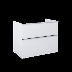 Elita Look Komoda 80 cm, 2 szuflady biały mat