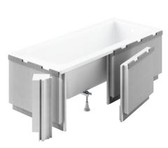 Schedpol Standard Plus Obudowa do wanny podpłytkowa LED  170x90