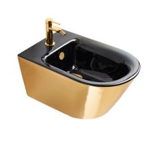 Catalano Gold&Silver Bidet wiszący 55x35 cm czarno-złoty
