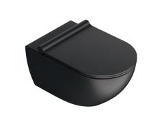 Catalano Colori Sfera NF 54 Miska WC wisząca czarna satyna