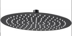 Deante Floks nero głowica natryskowa stalowa okrągła ø300 czarna
