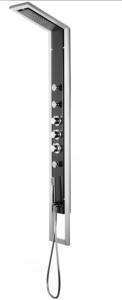 Deante Jaguar panel industrio czarno-srebrny