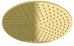 Kohlman Experience GOLD Deszczownica okrągła 25 cm złota