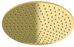 Kohlman Experience GOLD  Deszczownica okrągła 30 cm złota