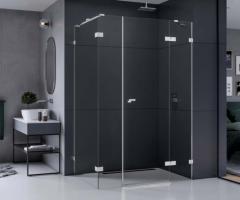 New Trendy Eventa kabina prysznicowa 130x80 cm prostokątna prawa szkło przezroczyste