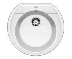 Blanco Rondoval 45 Silgranit PuraDur biały  średnica 535 mm