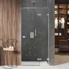 New Trendy Avexa drzwi wnękowe 130 cm prawe, szkło czyste