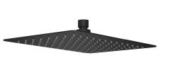 Excellent Deszczownia prysznicowa Prostokątna SLIM 200 x 300 mm Czarny mat
