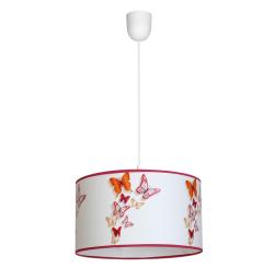 Milagro Butterflies lampa wiszaca 1xe27