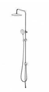 OMNIRES kolumna prysznicowa natynkowa chrom/biały
