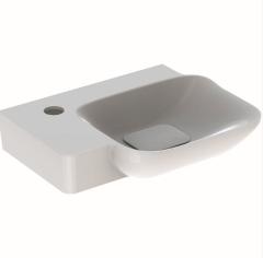 Geberit MyDay Umywalka kompaktowa 40x38 cm lewa biała