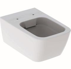 Geberit iCon Wisząca miska WC lejowa square, ukryte mocowania Rimfree