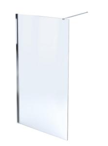 MASSI Ścianka prysznicowa WALK IN FIX 90 cm
