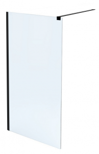 MASSI Ścianka prysznicowa WALK IN FIX Gold 70 cm