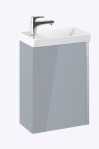 ELITA Spring Set umywalka + szafka 45 cm 1D light grey HG PDW