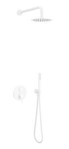 Excellent Zestaw Prysznicowo-wannowy Podtynkowy PI 2-Funkcje Biały Mat