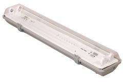 Eko-light oprawa hermetyczna 2x18w elektronik