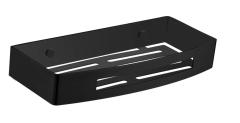 Omnires Uni Koszyk prysznicowy czarny mat  30x5x13 cm