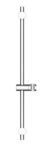 Oltens Alling Drążek prysznicowy 60 cm chrom
