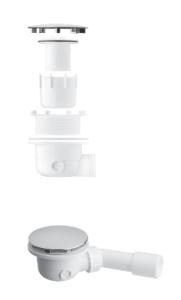 Vedo FLAT 90A Syfon brodzikowy biały mat