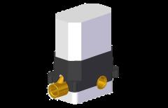 Graff element podtynowy do baterii wabbowo-natryskowej czarny mat 2394100-BK