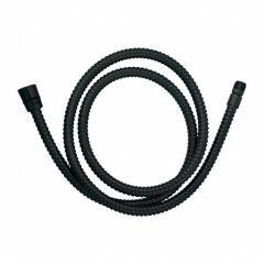 Omnires Wąż kuchenno-wannowy  180 cm  czarny mat