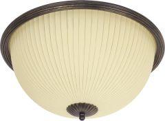 Nowodvorski Lighting Baron Lampa plafon black/gold czarno złota II