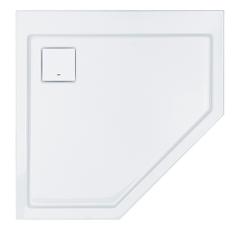 Sanplast Space Line Brodzik pięciokątny BPK/SPACE 90x90x3 cm biały