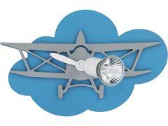 Nowodvorski Lighting PLANE Lampa kinkiet blue/gray I samolot