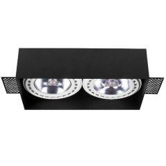 Nowodvorski Lighting MOD PLUS Lampa wpuszczana bezramowa black czarna II