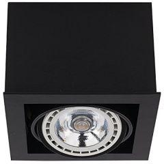 Nowodvorski Lighting BOX ES111 Lampa sufitowa black czarna I