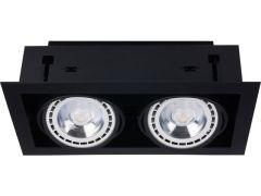 Nowodvorski Lighting DOWNLIGHT ES111 Lampa wpuszczana black czarna II