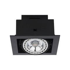 Nowodvorski Lighting DOWNLIGHT ES111 Lampa wpuszczana black czarna I