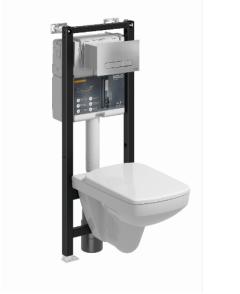 Koło Technic GT Zestaw Stelaż podtynkowy z miską WC z przyciskiem kolor chrom