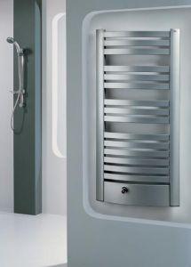 Enix Quatro (QB) Grzejnik łazienkowy 595x1698mm biały