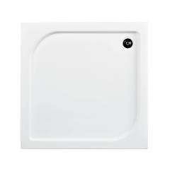Besco Oskar Brodzik prysznicowy 70x70x4 cm biały